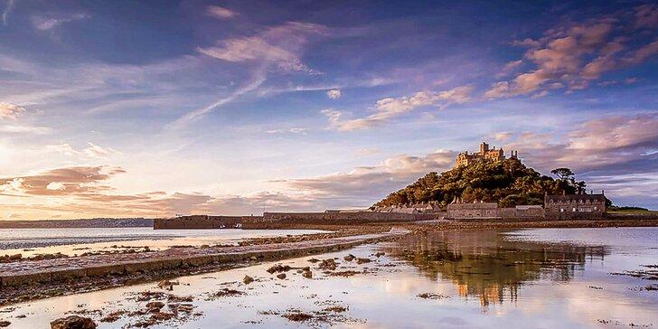 Letecky do kouzelné jihozápadní Anglie a hrabství Cornwall: 4 noci a průvodce