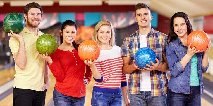 Tohle bude mít koule: pronájem bowlingové dráhy na 60 minut až pro 6 hráčů