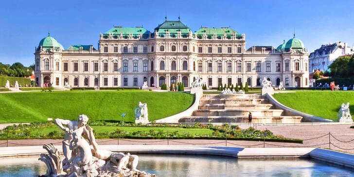 Výlet do Vídně: prohlídka památek a koncert Vídeňských filharmoniků zdarma