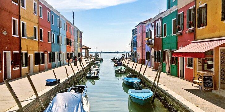 Zájezd do Itálie: Miramare, Murano, Burano, Torcelo, Benátky: 2x nocleh se snídaní