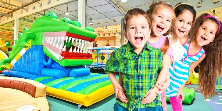 Celodenní vstupenky pro děti i dospělé do zábavního centra Wikyland
