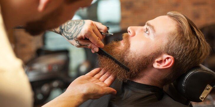 Skvělý dárek pro pány: střih nebo holení v klasickém barbershopu na Vinohradech