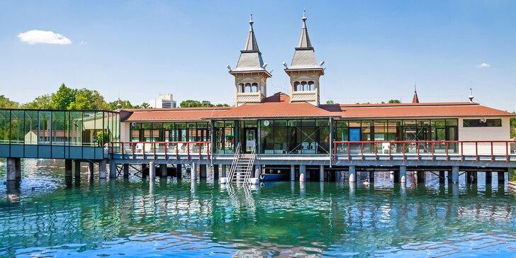 Božský relax u termálního jezera Hévíz s neomezeným wellness a polopenzí