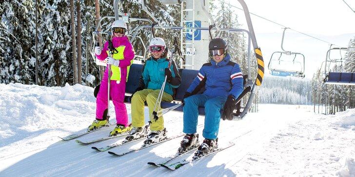 Pobyt na břehu Lipna od zimy do jara: lyžování, cyklistika a pěší túry