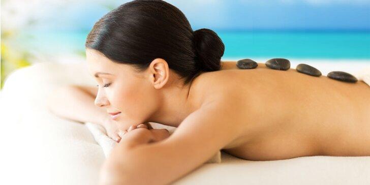Vezměte nohy a záda na masáž: thajská masáž nohou i masáž lávovými kameny