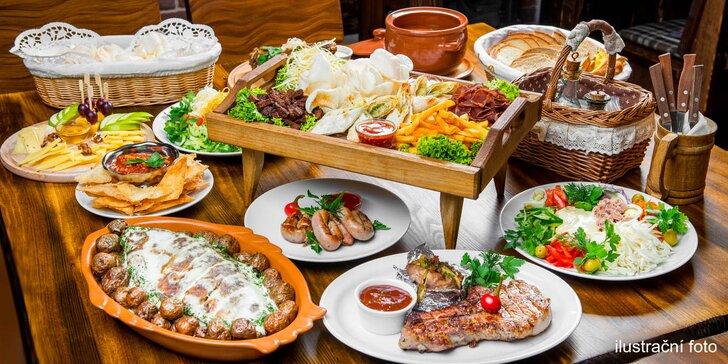 Naplňte břicha celé partě: Raut až pro 6 jedlíků v restaurantu Flora