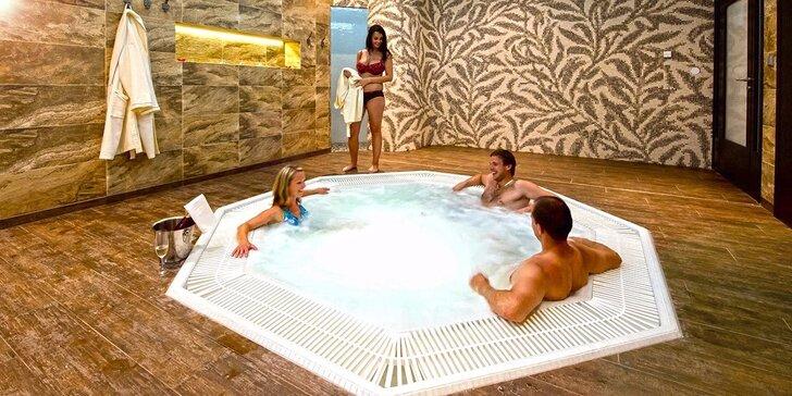 Báječná noc v Resortu Johanka: Polopenze a neomezený vstup do wellness