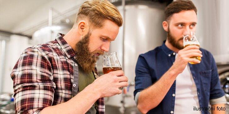 Komentovaná prohlídka 1. selského pivovárku včetně degustace