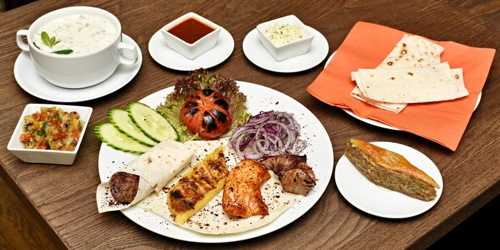 Dotek Ázerbájdžánu pro 2: Telecí basturma, jogurtová polévka dovga i kebab