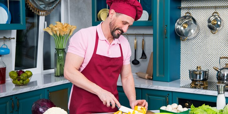 Škola vaření s kuchařem s praxí z michelinské restaurace: 7 originálních chodů