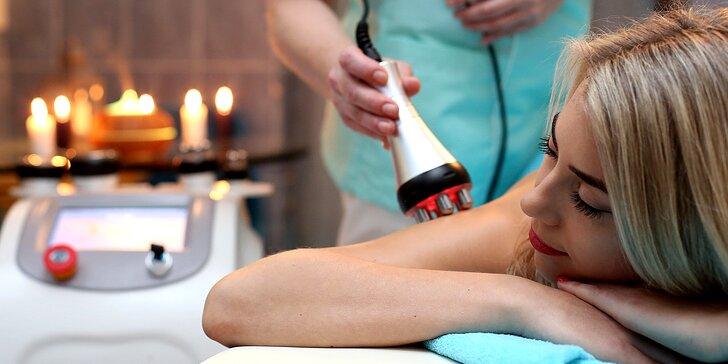 Hubnoucí nebo wellness pobyt: lymfodrenáže, zábaly, masáže a kosmetika