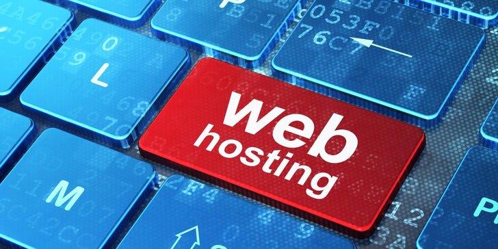 Hosting pro vaše stránky na 12 měsíců i registrace domény