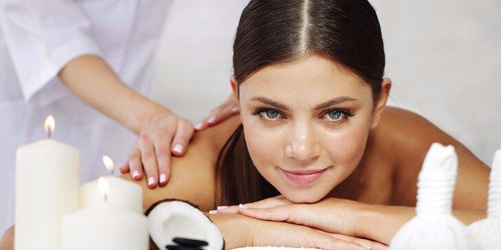 Relax ve znamení exotiky: biokokosová masáž v délce 60 minut