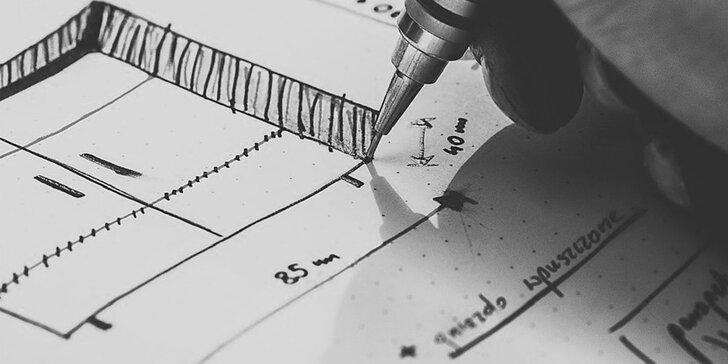 První krok k hezčímu bydlení: grafické navržení interiéru designovým studiem