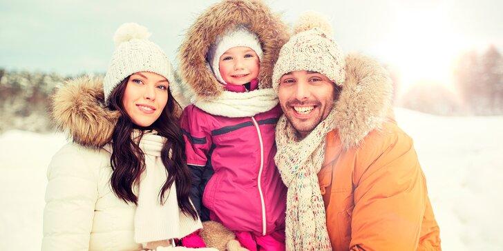 Zimní rodinná dovolená ve Špindlu: polopenze, wellness a zábava na lyžích