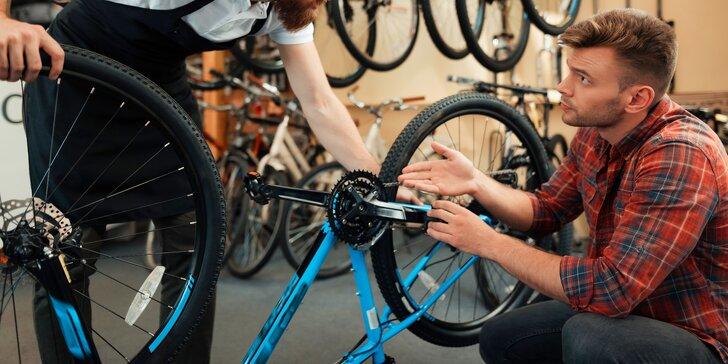 Připravte se na cyklistickou sezónu: malý nebo velký servis kola