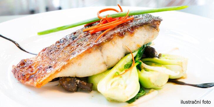 All you can eat: degustace ryb pro 2 osoby v ráji milovníků ryb a mořských plodů