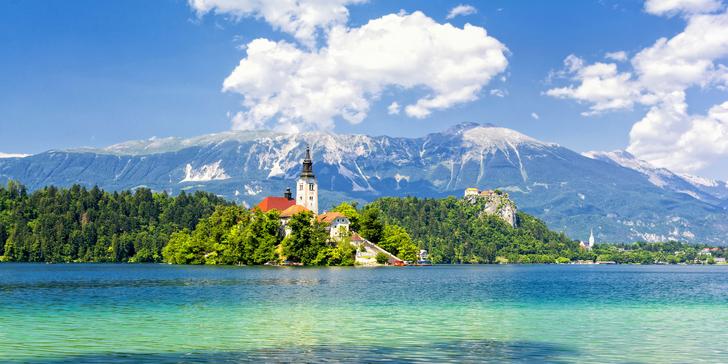 Malá země, velké zážitky: Putování Slovinskem včetně dopravy a 3 nocí v hotelu