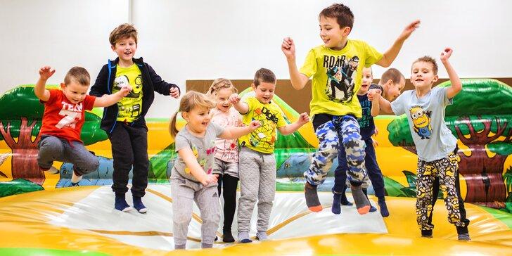 Celodenní vstup do Dětského světa Lvíček: divočina pro děti do 15 let