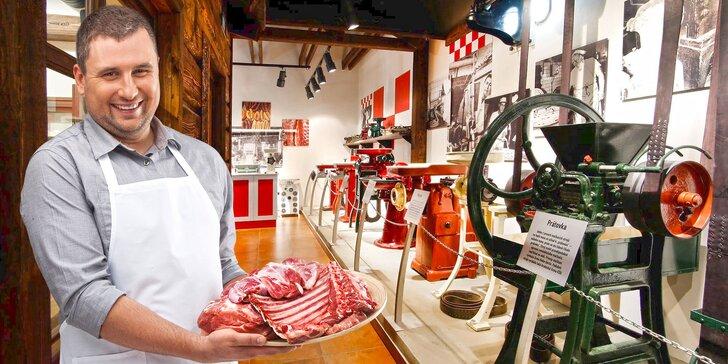 Exkurze v Muzeu řeznictví včetně pohoštění, filmu a ochutnávky řeznického piva
