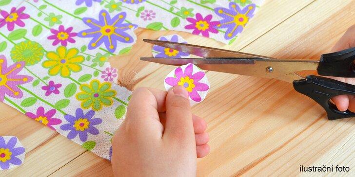 Hodina plná tvoření a inspirace: kreativní workshop pro děti i dospělé
