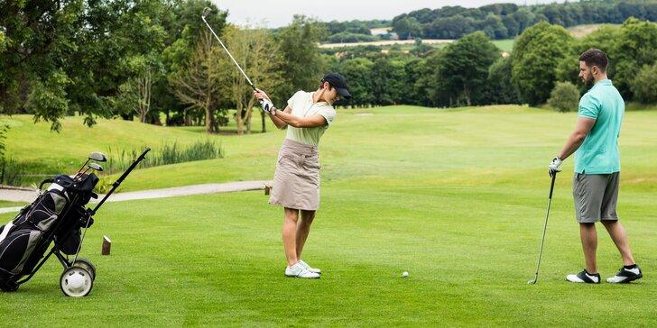 Zahrajte si golf na mistrovských hřištích a staňte se členem golfové federace