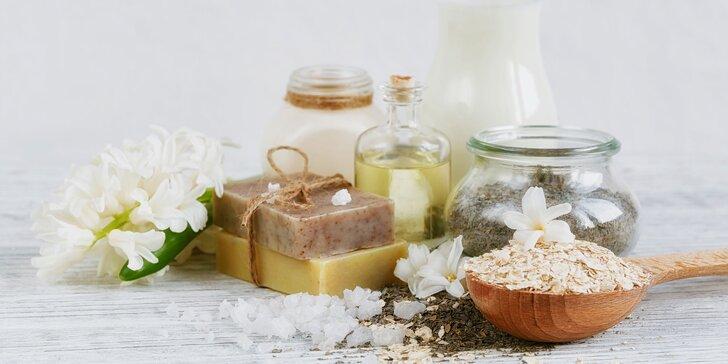 Kurz výroby domácí bylinné kosmetiky: namíchejte si mýdlo, parfém a další