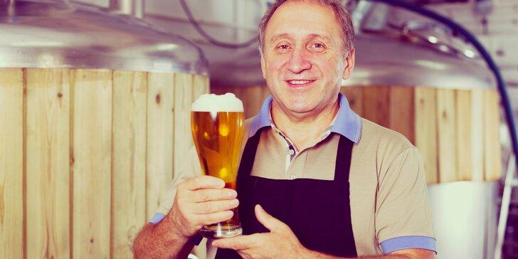 Komentovaná prohlídka Pivovaru Kvasar včetně neomezené konzumace piv