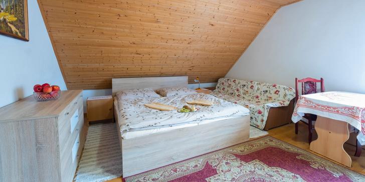 Pohádkový pobyt v Oravském domečku: mnoho aktivit a možnost polopenze