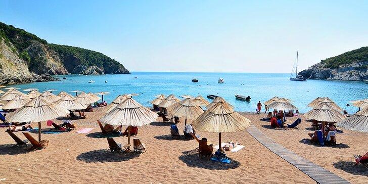 7 nocí v Černé Hoře v letovisku Čanj: hotel 250 m od pláže s plnou penzí