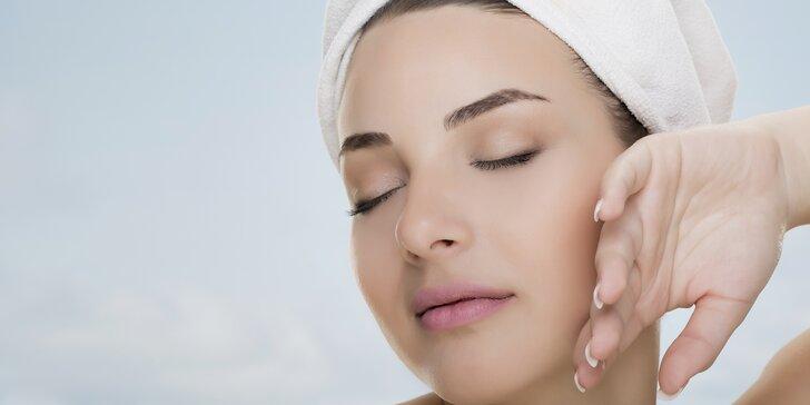 Liftingové ošetření pleti: peeling, masáž obličeje i hlavy, arganová maska