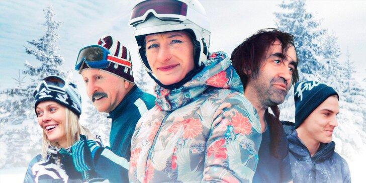 2 vstupenky do Lucerny na březnové promítání zimní komedie Špindl