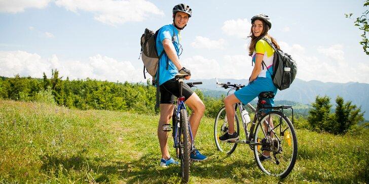 Jaro, léto či podzim na Božím Daru: Polopenze a skvělé zázemí pro cyklisty