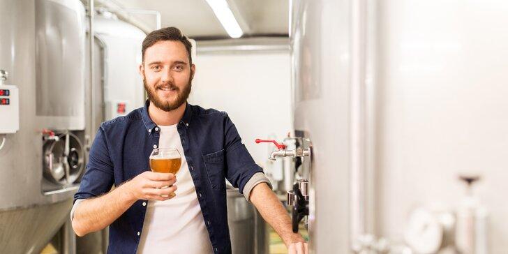 Komentovaná prohlídka minipivovaru Jižan vč. ochutnávky 5 druhů piv a speciálu