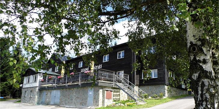 Jarní aktivní pohoda v Krkonoších s polopenzí, výlety a možností sauny