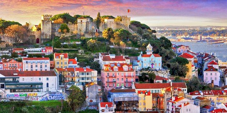 Lisabon letecky: výlet do Sintry, ubytování ve 4* hotelu včetně snídaně a průvodce