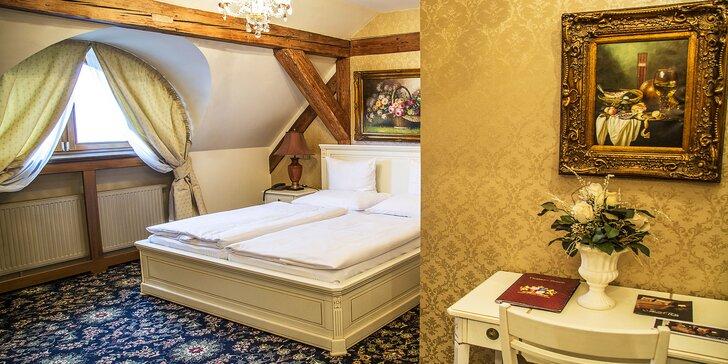 Luxusní pobyt na zámku: 5* apartmán, wellness pod skálou i večeře v krčmě