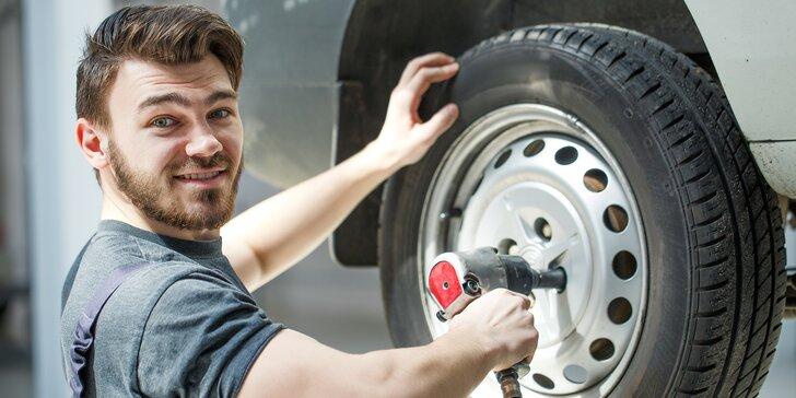 Nová sezóna je za dveřmi: Přezouvání všech rozměrů pneu i s vyvážením