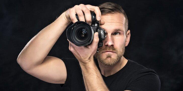 4hod. kurz portrétní fotografie a svícení v ateliéru pro začátečníky