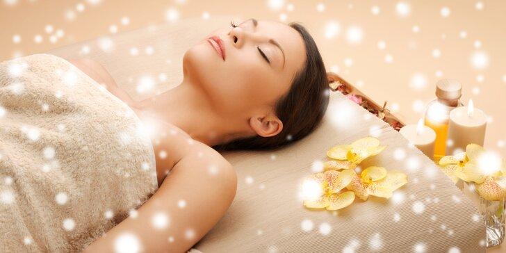 Luxusní omlazující lymfatická masáž obličeje arganovým olejem