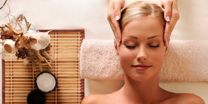 Kosmetické ošetření s mikrodermabrazí včetně masáže v délce 80 minut
