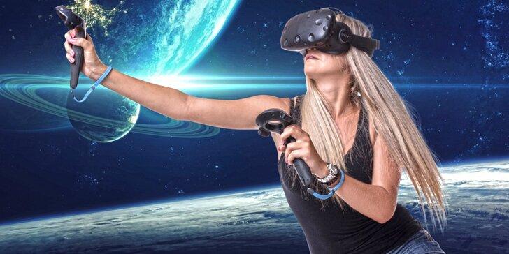 Objevte novou dimenzi: 1 nebo 2 hodiny fascinující virtuální reality