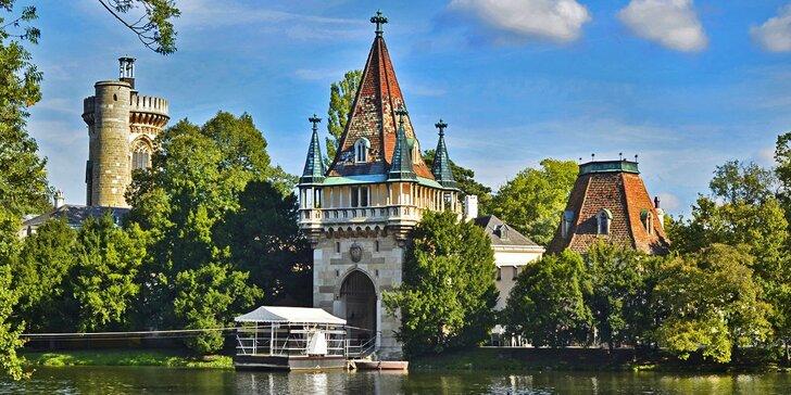 Zámek Franzesburg, plavba po podzemním jezeře a návštěva čokoládovny
