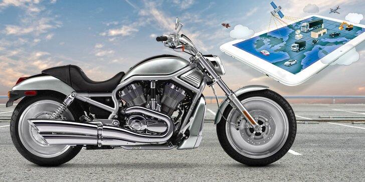 Loksys MOTO GyroPit na 1 rok: aktivní systém, který ohlídá vaši motorku