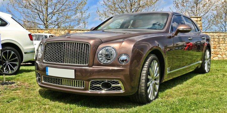5. sraz automobilových veteránů značek Rolls-Royce, Bentley a dalších