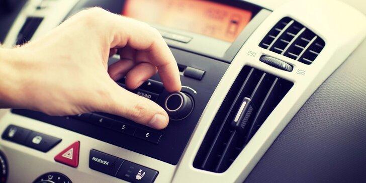 Čištění a plnění autoklimatizace s dezinfekcí vozu ozónem