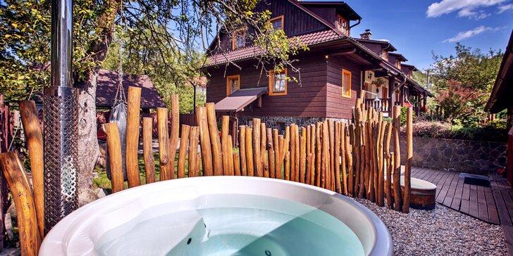 Příjemné ubytování a kouzlo Nízkých Tater ve Wellness chatě Zinka