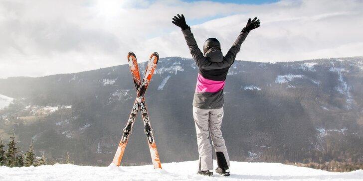Na lyže, kola i túry: pronájem apartmánu v Jeseníkách až pro 6 osob