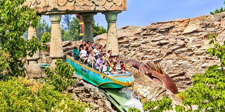 Výlet do italského zábavního parku Gardaland s dopravou a vstupným na atrakce