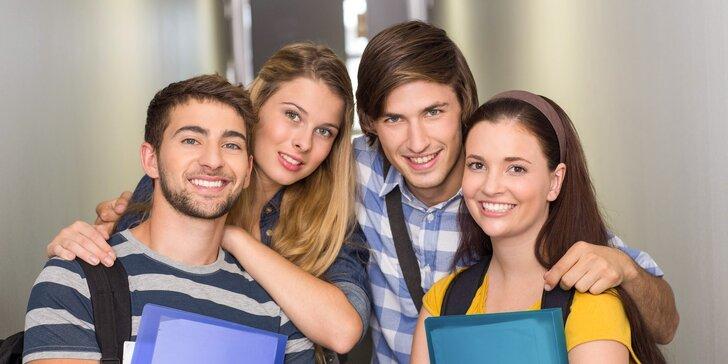 Intenzivní maturitní kurzy - anglický jazyk a český jazyk a literatura